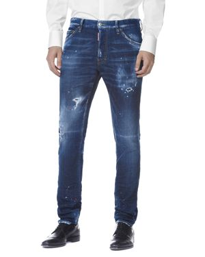 DSQUARED2 Cool Guy Slim Fit Jeans in Spray Wash