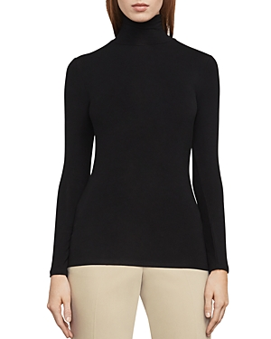 Bcbgmaxazria Brynne Sculpted Jersey Turtleneck Top