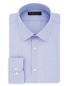 The Men's Store at Bloomingdale's Stripe Regular Fit Dress Shirt - 100% Exclusive_0