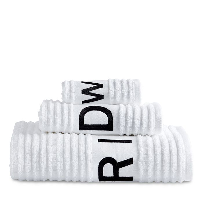 Dkny Chatter Hand Towel In White