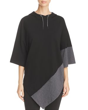 Marc New York Performance Color Block Hooded Poncho