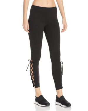 Marc New York Performance Lace-Up Leggings