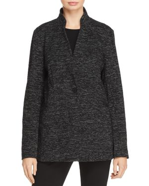 Eileen Fisher Stand Collar Blazer
