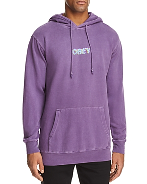 Obey Creep Scan Hooded Sweatshirt