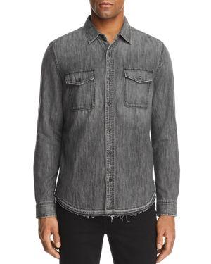 Ag Benning Denim Button-Down Shirt