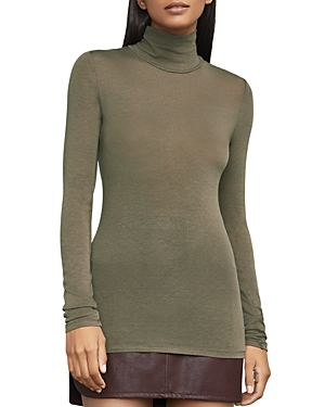 Bcbgmaxazria Brynne Knit Turtleneck Top