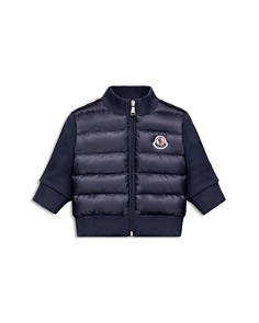 Moncler Boys' Puffer Jacket with Knit Sleeves & Back - Baby - Bloomingdale's_0