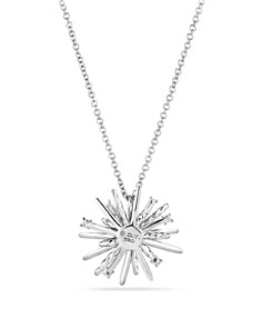 David Yurman - Supernova Small Pendant Necklace with Diamonds in 18K White Gold