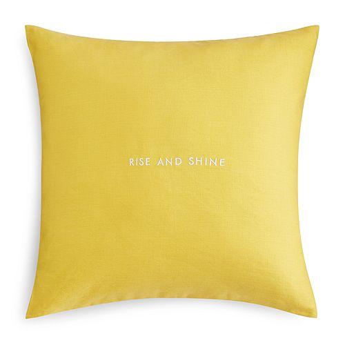 Kate Spade New York Words Of Wisdom Decorative Pillows 40 X 40 Awesome Kate Spade Decorative Pillows