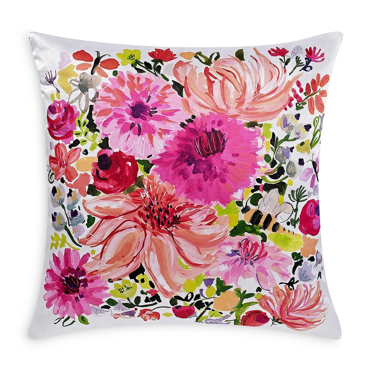 Black Blush Pink Dot Kate Spade Pillows A Pair Image 4