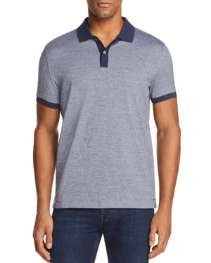 Boss Phillipson Mouline Short Sleeve Polo Shirt