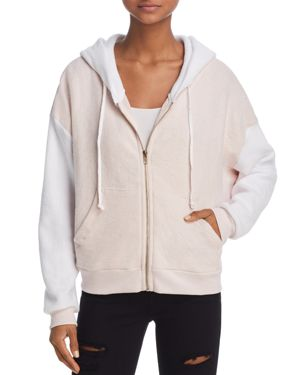 Wildfox Milk Run Color-Block Hoodie