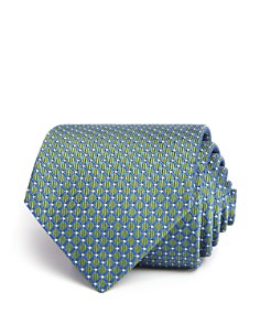 Turnbull & Asser Diamond Geometric Neat Woven Classic Tie - Bloomingdale's_0