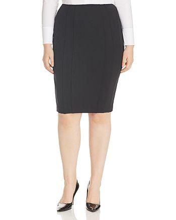 4c6fd9bb66 Marina Rinaldi x Ashley Graham Ocraceo Pleated Pencil Skirt ...