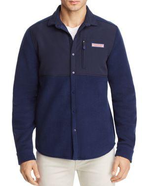 Vineyard Vines Fleece Shirt Jacket