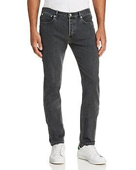 A.P.C. - Petit New Standard Slim Fit Jeans in Washed Black