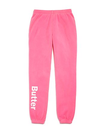 Butter - Girls' Fleece Jogger Pants - Big Kid