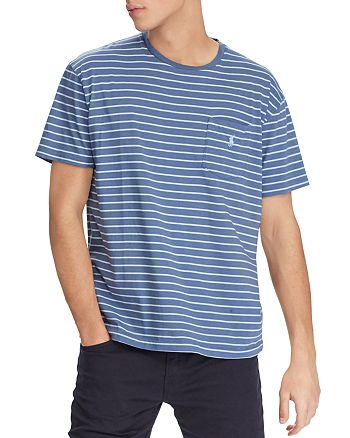 27b073bf Polo Ralph Lauren Weathered Striped Classic Fit Tee | Bloomingdale's