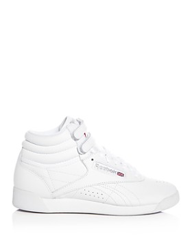 Reebok - Women's Freestyle Leather High Top Sneakers