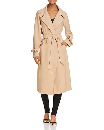 1.STATE - Belted Trench Coat