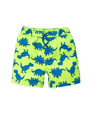 Little Me Boys Dino Swim Trunks  Baby