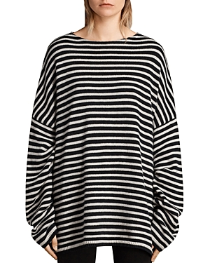 Allsaints Marcel Striped Sweater