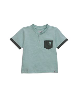 Sovereign Code Boys' Short-Sleeve Palm Tree Henley - Little Kid