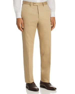 The Men's Store at Bloomingdale's Regular Fit Stretch Dress Pants - 100% Exclusive