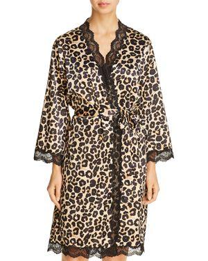 Dita Von Teese Starlift Satin Kimono Robe