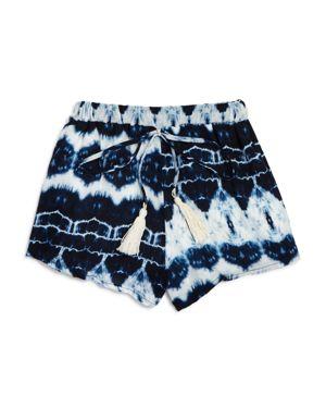 Vintage Havana Girls' Tie-Dye Shorts - Big Kid