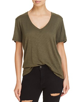 Splendid - V-Neck Slub Tee