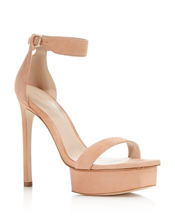 0708392d972 Stuart Weitzman Women s Backupplat Suede Platform High-Heel Sandals ...