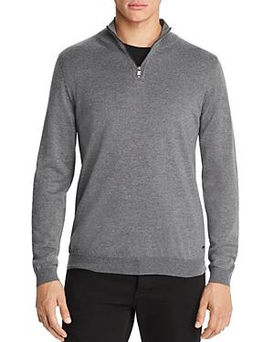 Boss Banello Quarter-Zip Virgin Wool Sweater - 100% Exclusive