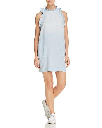 Bella Dahl - Ruffled Chambray Dress
