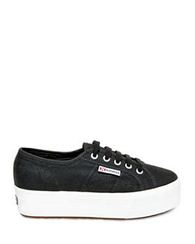 Superga - Lace Up Platform Sneakers - 2790