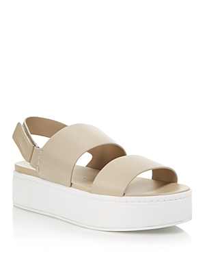54c4a7e185c Vince Women S Westport Leather Platform Sandals - 100% Exclusive In Light  Straw