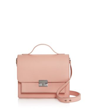 MINIMAL RIDER SAFFIANO LEATHER SATCHEL - 100% EXCLUSIVE