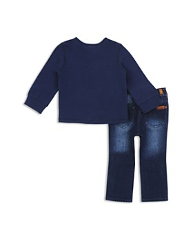 7 For All Mankind - Boys' Henley & Jeans Set - Baby