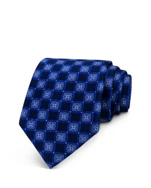 The Men's Store at Bloomingdale's Medallion Print Classic Tie - 100% Exclusive