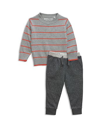 Sovereign Code - Boys' Striped Sweater & Jogger Pants Set - Baby