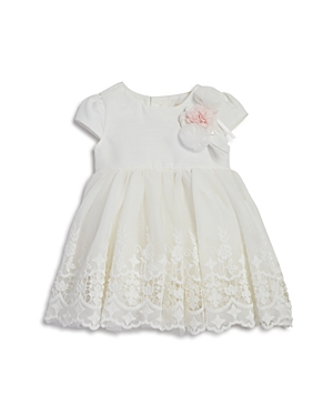 Miniclasix Girls Lace Dress with Rosettes  Baby