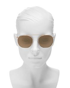 Illesteva - Women's Mykonos II Square Aviator Sunglasses, 53mm