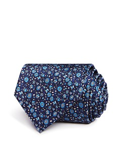 The Men's Store at Bloomingdale's Floral Print Classic Tie - 100% Exclusive_0