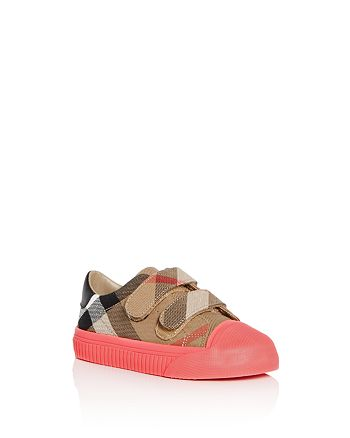Burberry - Girls' Belside House Check Sneakers - Toddler, Little Kid, Big Kid