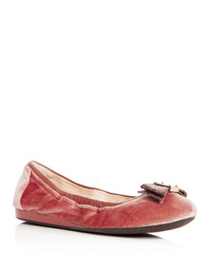 Cole Haan Women's Tali Velvet Bow Ballet Flats 2770984