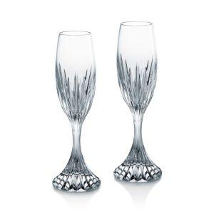 Baccarat Massena Champagne Flute, Set of 2