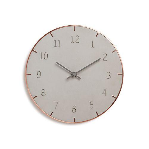 Umbra - Piatto Concrete Wall Clock