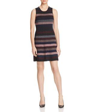 Parker Josie Striped Knit Dress
