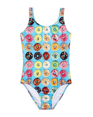 Terez Girls Donut Print Swimsuit  Little Kid Big Kid