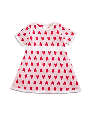 Armani Junior Girls Intarsia Heart Sweater Dress  Baby